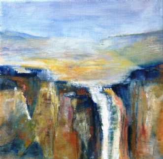 Nr. 416 Uden titel by Helle L. Christensen | maleri