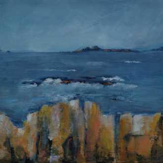 401 Udfordring før.. by Helle L. Christensen | maleri