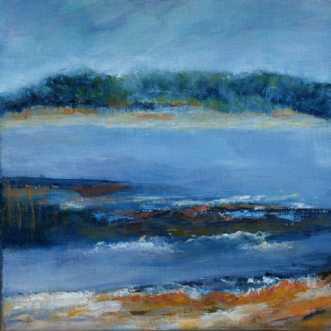 Nr. 405 Uden titel by Helle L. Christensen | maleri
