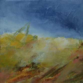 Nr. 409 Uden titel by Helle L. Christensen | maleri