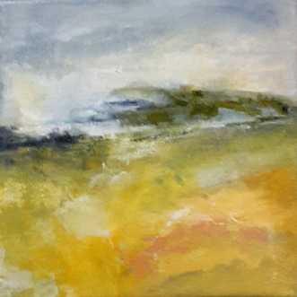 Nr. 385 Uden titel by Helle L. Christensen | maleri