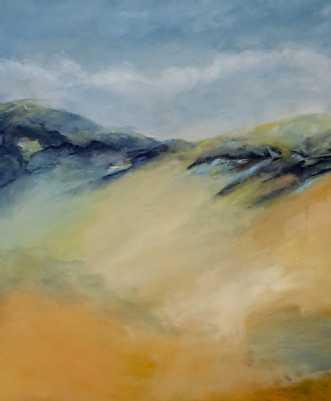 431 Om lidt..... by Helle L. Christensen | maleri