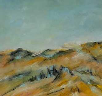 446 Et sted i solen by Helle L. Christensen | maleri
