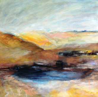 298 På den anden si.. by Helle L. Christensen | maleri