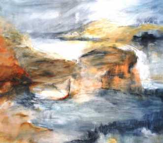 308 Gådefuld by Helle L. Christensen | maleri
