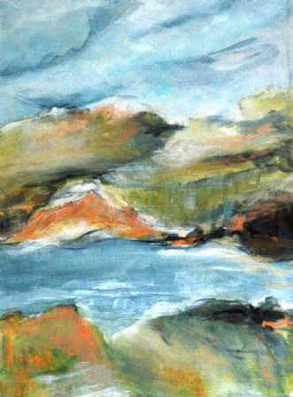 238 Der var engang... by Helle L. Christensen | maleri