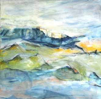 403 Stjernestunder by Helle L. Christensen | maleri