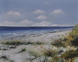 Sommer ved vandet by Merete Roy | maleri