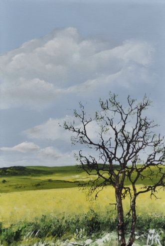 forår nr 2 by Merete Roy | maleri