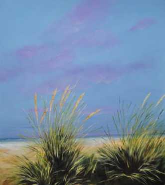 Strand nr 2 by Merete Roy | maleri