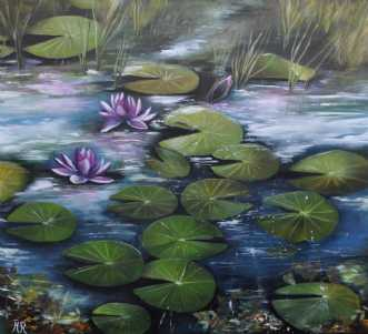 skovsøen nr 3 by Merete Roy | maleri