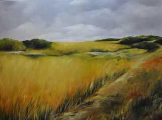 Marken by Merete Roy | maleri