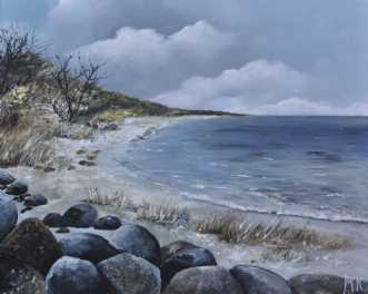 Udsigten nr 1 by Merete Roy | maleri