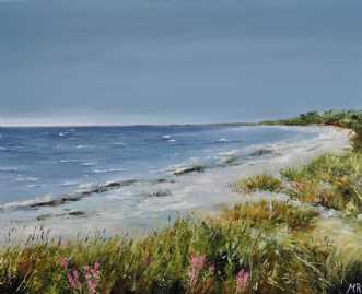 Sommerdag nr 2 by Merete Roy | maleri