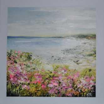 sommer nr 2 by Merete Roy | maleri