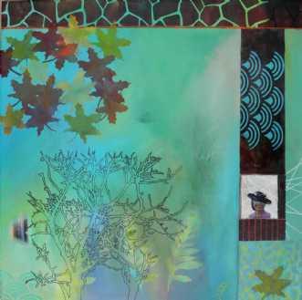 Efterårsblade by Elsebeth Altschuler | maleri