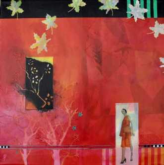 Hanoimodel by Elsebeth Altschuler | maleri