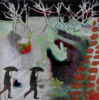 Uden titel by Elsebeth Altschuler | maleri