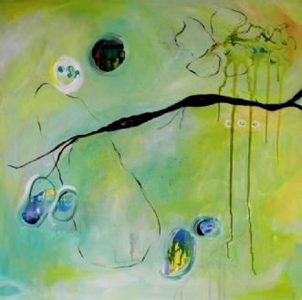 E 49 by Elsebeth Altschuler | maleri