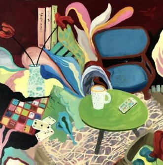 Tirsdag by Elsebeth Altschuler | maleri