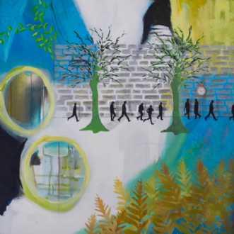 Bregner by Elsebeth Altschuler | maleri
