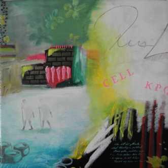 Indien IV by Elsebeth Altschuler | maleri