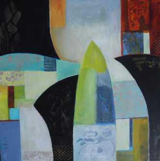 Karja by Elsebeth Altschuler | maleri