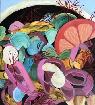 Pastasalat by Elsebeth Altschuler | maleri