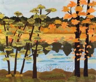 Efterår ved søen
