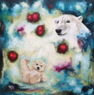 Always there by Majbrit Skou | maleri