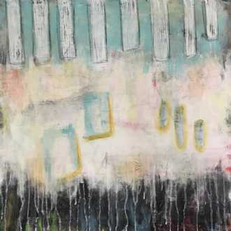 Mixed Media 9 by Heidi Stampe | maleri