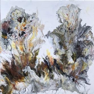Vildskab by Heidi Stampe | maleri