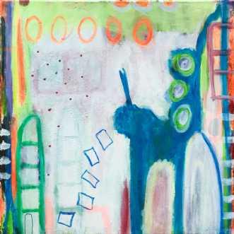 Stik ikke snuden i .. by Heidi Stampe | maleri