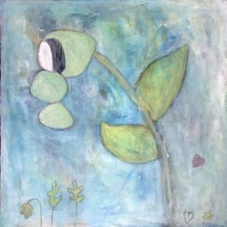 Teardrop by Heidi Stampe | maleri