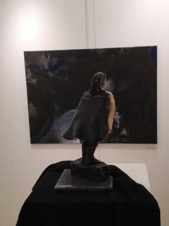 Lysende mørke by Anna Johansen | maleri