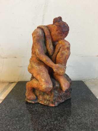 Siddende kvinde by Anna Johansen | keramik