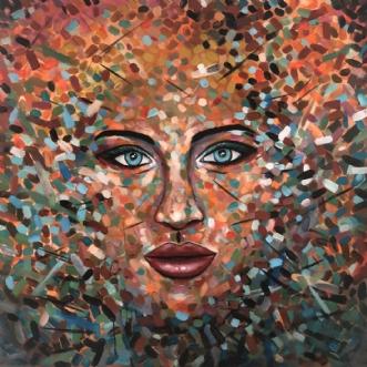 AFRODITE by Dorrit Wagner | maleri