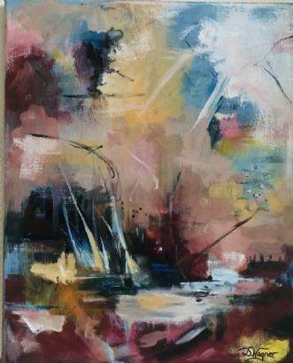 SERENITY by Dorrit Wagner | maleri