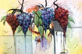 GRAPES  by Dorrit Wagner | maleri