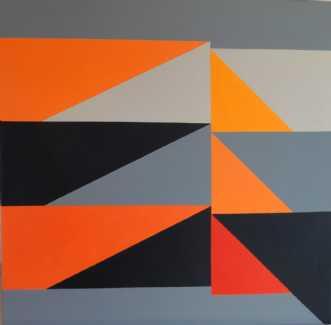 Constructive Art Tr.. by Kirsten Fagerli | maleri