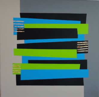Constructive Art  -.. by Kirsten Fagerli | maleri