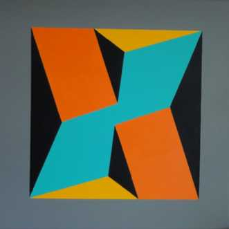 Constructive art by Kirsten Fagerli | maleri