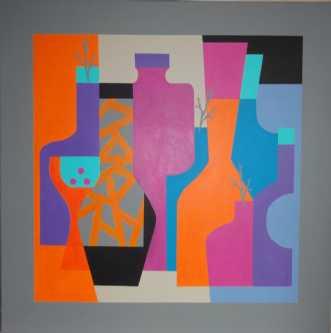 Interiør VIII by Kirsten Fagerli | maleri