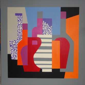 Interiør II by Kirsten Fagerli | maleri