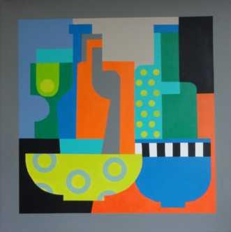 Interiør III by Kirsten Fagerli | maleri