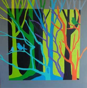 Grønne træer
