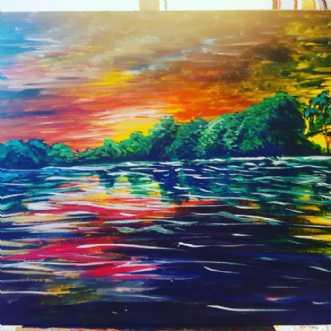 Maleri af LijaPetersone