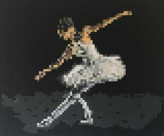 Ballerina by Rikke Bjørn | maleri