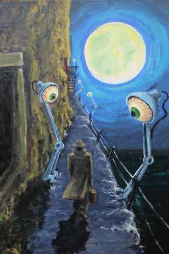 Maleri af FlemmingNielsen