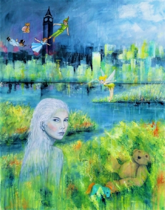 Drømmerejse by Kirsten Adrian | maleri
